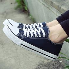 Review Tb Classic Canvas Sepatu Biru Intl Di Tiongkok