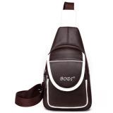 Jual Beli Tb Fashion Leather Satchel Bag Dark Brown Intl Tiongkok