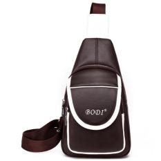 Promo Tb Fashion Leather Satchel Bag Dark Brown Intl Di Tiongkok