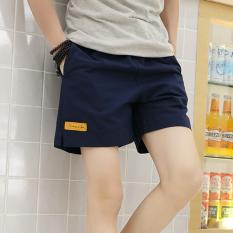 Jual Tb Korean Men S Leisure Beach Pants Blue Intl Branded Original