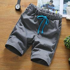Situs Review Tb Pria Kasual Fashion Beach Pants Grey Intl
