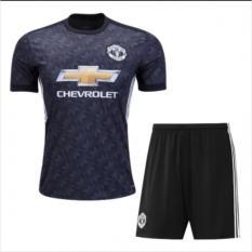 TBK fashion - Setelan Baju Bola Kaos Olahraga T-Shirt footbaal futsal Jersey  Bola Sport MU AWAY 3RD 2018