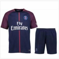TBK fashion - Setelan Baju Bola Kaos Olahraga T-Shirt footbaal futsal Jersey  Bola Sport PSG Home 3RD 2018