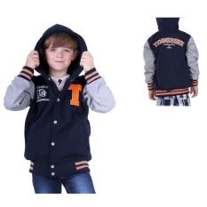 Top 10 Tdlr Jaket Anak Casual Sekolah Fleece Hoodie T2262 Fashion Kids Jaket Blue Online