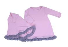 Harga Tdlr Ths 3205 Baju Stelan Bayi Bahan Cotton Combed Lucu Dan Bagus Merah Muda Yang Murah