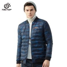 TECTOP Jaket Bulu Angsa Musim Dingin Bulu Bebek Anti Dingin Penghangat Pria dan Wanita