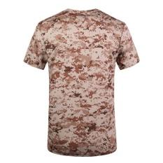 Tees Militer Musim Panas Pria Pendek Tops Lengan Outdoor Trend Kebugaran Pelatihan Tentara Taktis T-shirt