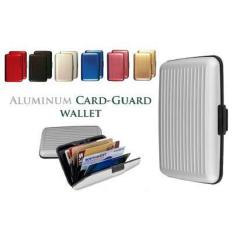 Tempat Kartu Multifungsi Card Guard Aluminium Card Safe / Dompet Anti Air Caddy Terbaru - Warna Menarik