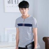 Spek Sepuluh Bintang 2017 Korea Versi Baru Musim Semi Dan Musim Panas Pria T Shirt Lengan Pendek Cotton Men S Printing T Shirt Intl