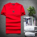 Harga Sepuluh F 2017 Spring Dan Summer Baru Korea T Shirt Lengan Pendek Leher Bulat Pria Korea Slim T Shirt Cotton Simple Setengah T Shirt Lengan Intl Baru Murah