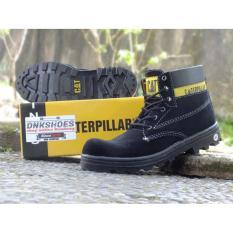 TERBARU BEST SELLER PROMOO Caterpillar boot safety suede sol premium sepatu pria pekerja lapangan #dnk1
