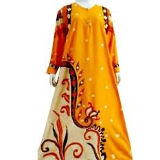 TERBARU daster Muslim kamila Dewi baju tidur santai dewasa longdress batik