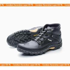 TERBARU Sepatu Boot Pria/ Sepatu Boots Kulit/ Boot Model Kickers, Caterpillar, Bally, Brodo BKS01TP