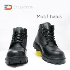 TERBARU Sepatu safety boot bahan kulit sapi type jeruk AV. 1