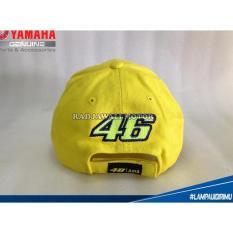 Terbaru Topi Valentino Rossi Vr 46 Asia Signature Asli Yamaha - Kdstr