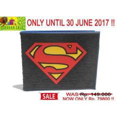 Terbaru Wallet / Dompet Superman Dc Comic Limited Edition (Code: W Superman 2) - Kdstr