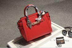 Terkenal Tas Model Hermes Korea Fashion Style Perempuan Tas Pernikahan Warna Merah Jinjing