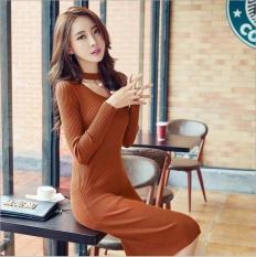TERLARIS!!! [Dress viva mutiara bata RO] dress wanita rajut stret merah bata / atasan wanita terbaru / atasan wanita muslim / atasan wanita lengan panjang / atasan wanita murah
