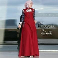 TERLARIS Gamis Murah/ Gween Dress/ Baju Muslim Modern