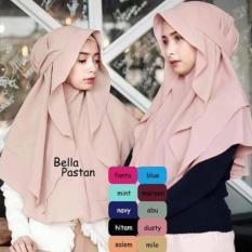 Harga Hijab Terlaris Jilbab Hijab Kerudung Instan Bella Pastan Modelis Merk Hijab