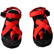 Harga Terlaris Sandal Gunung Suzuran Black Red Original