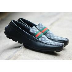 Terlaris! sepatu pria guci casual slop semi formal slip on mocasin kickers pantofel kantor terlaris