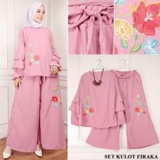 TERLARIS!!! [Set Kulot Firaka Dusty TL] setelan muslim wanita betrix dusty / baju muslim wanita / baju muslimah / baju muslim wamita terbaru / baju muslim murah