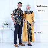 Harga Termurah Batik Couple Ayunda Kuning Baru