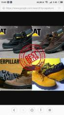 TERMURAH Boost Tracking 59OOO Rb An Caterpillar Safety Ujung Besi Suede Sol Hitam Handmade Bandung
