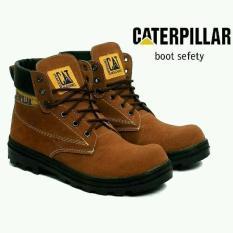 TERMURAH BOOTS 69 000Rb CATERPILLAR Safety Boots Pria - Sepatu Boots Pria Murah CUSTOM BANDUNG