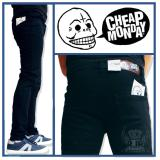Toko Termurah Celana Jeans Pria Denim Pria Skinny Cheap Monday Warna Hitam Black Termurah
