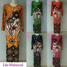 Termurah Gamis Murah Bahan Rayon / Lomgdress Batik Pekalongan / Baju Menyusui