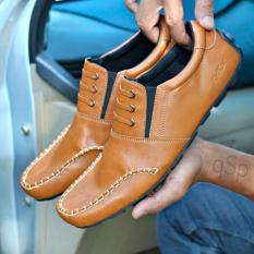 TERMURAH  Sepatu Pria Kickers Mocasin Loafer Original Handmade Bandung