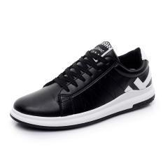 Diskon Tf Fashion Sports Shoes Flat Shoes Leisure Time Walking Shoes Running Shoes Korean Black Intl Tiongkok