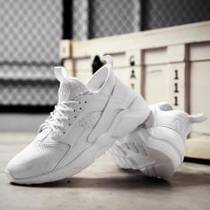 TF HUARACHE Pria Breathable Sepatu Olahraga, Sepatu Lari Santai, Tahan Aus Mesh Sepatu (Putih) -Intl