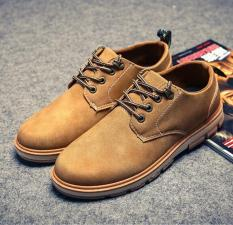 Tf New England Sepatu Pria Sepatu Bisnis Fesyen Kuning Intl Diskon Akhir Tahun