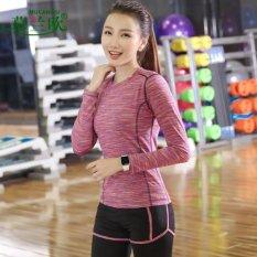 Toko Set Pakaian Olahraga Yoga Disebut Tf Wanita Kain Kaos Celana Bar Cepat Pengeringan Pakaian Tiga Potong Setelan Merah Internasional Online Tiongkok