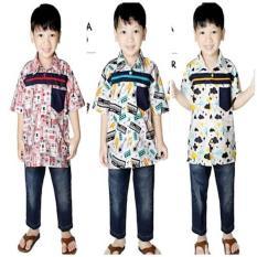 Thaluna Kids Zarlo - Kemeja Anak - Jual Baju Anak Muslim Original