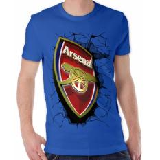Toko Thanks Mother Kaos Distro Kaos 3D Kaos Pria Kaos Bola Arsenal Elegant Biru Benhur Thanks Mother