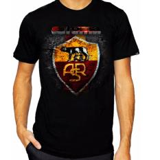 Beli Thanks Mother Kaos Distro Kaos 3D Kaos Pria Kaos Bola As Roma Hitam Seken