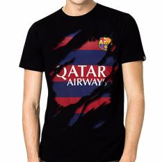 Jual Thanks Mother Kaos Distro Kaos 3D Kaos Pria Kaos Bola Jerseyy Barcelona 4 Hitam Thanks Mother Original