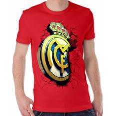 Cuci Gudang Thanks Mother Kaos Distro Kaos 3D Kaos Pria Kaos Bola Madrid Elegant Merah