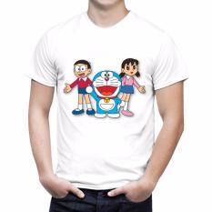 Beli Barang Thanks Mother Kaos Distro Kaos 3D Kaos Pria Kaos Doraemon 3 Putih Online