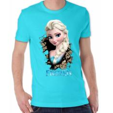 Thanks Mother Kaos Distro kaos 3d kaos pria kaos Elsa Frozen - Turkis Muda