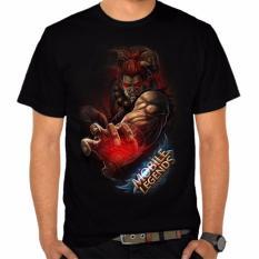 Toko Thanks Mother Kaos Distro Kaos 3D Kaos Pria Kaos Game Mobile Legends Balmond Hitam Murah Di Banten