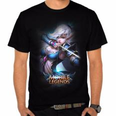Spesifikasi Thanks Mother Kaos Distro Kaos 3D Kaos Pria Kaos Game Mobile Legends Miya Hitam Yang Bagus