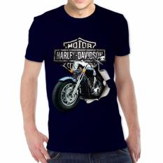 Harga Thanks Mother Kaos Distro Kaos 3D Kaos Pria Kaos Motor Harley Davidson 3 Navy Branded