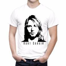 Thanks Mother Kaos Distro Kaos 3D Kaos Pria Kaos Musisi Anak Band Musik Kurt Cobain Siluet Putih Promo Beli 1 Gratis 1