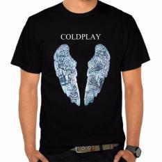 Dapatkan Segera Thanks Mother Kaos Distro Kaos 3D Kaos Pria Kaos Musisi Coldplay Go Hitam
