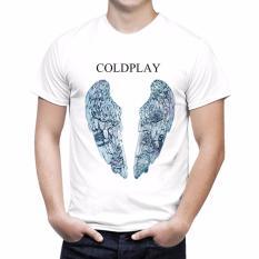 Harga Thanks Mother Kaos Distro Kaos 3D Kaos Pria Kaos Musisi Coldplay Putih Thanks Mother Asli